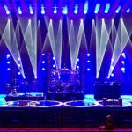 Sonorização e iluminação para eventos